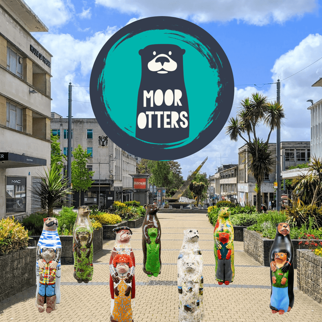 The Moor Otters Arts Trail bringing family fun to Plymouth City Centre this summer