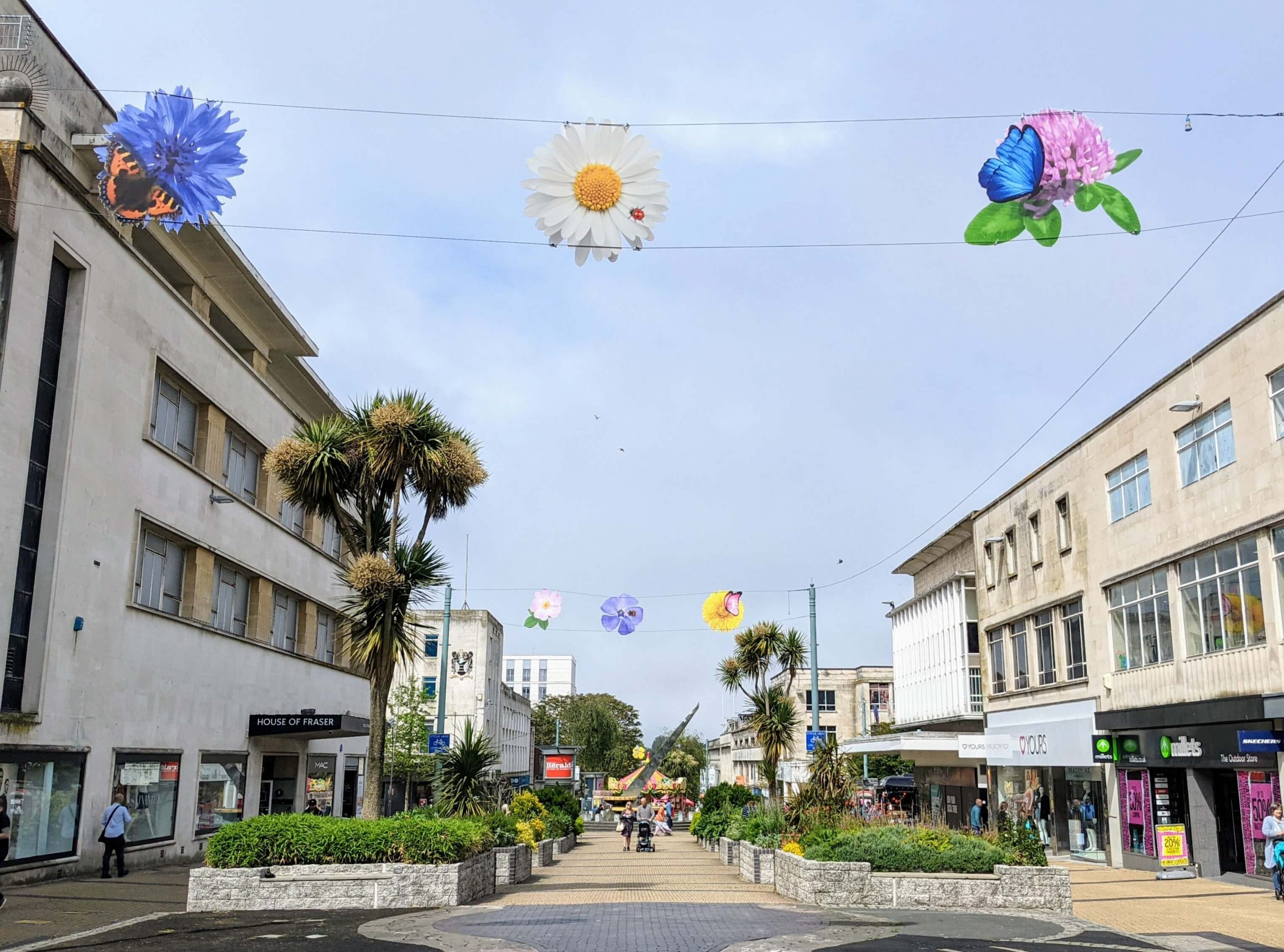 City Centre looks blooming lovely for summer