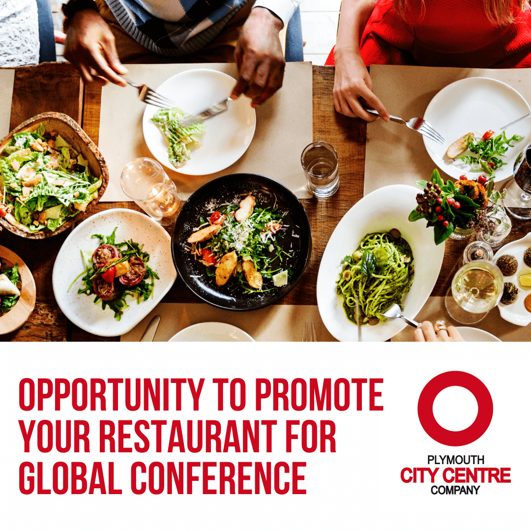 Opportunity to promote your city centre restaurant for global Conference