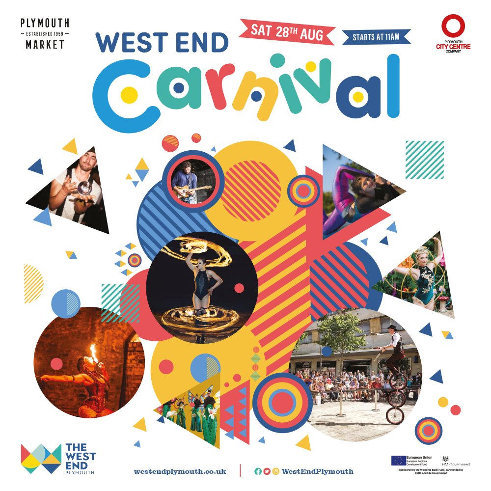 Family fun to enjoy at Plymouth's West End Carnival