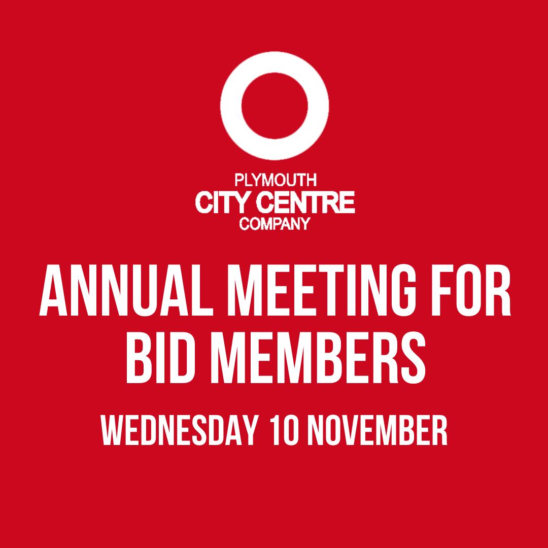 Annual BID Member Meeting